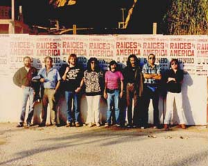 Tadeu Passarelli, Luiz Armando Figueroa, Julio Peralta, Oscar Segovia, Nacha Moretto, Jorge Menares, Chico Pedro e Willy Verdaguer